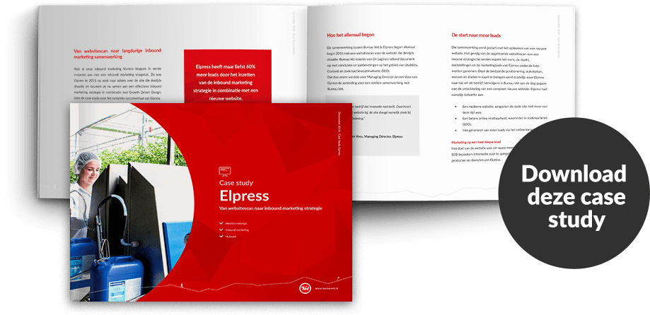Wat is inboudn marketing - Case study Elpress