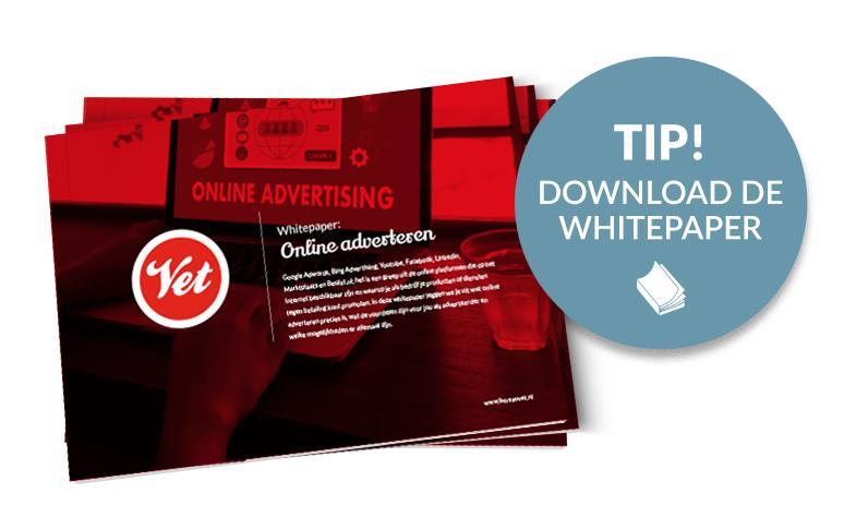 Whitepaper online adverteren