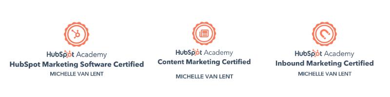 Certificaten Michelle