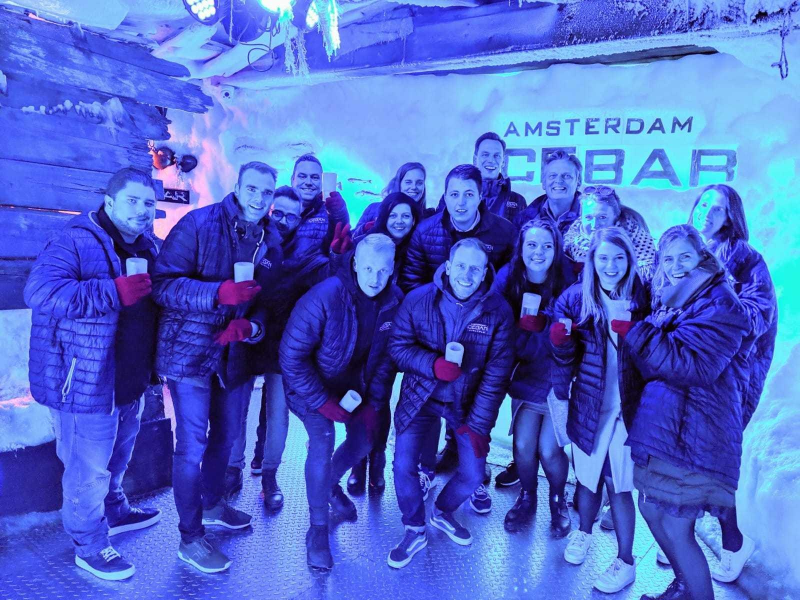Team Vet Amsterdam Icebar