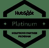 Bureau Vet - platinum partner HubSpot - black