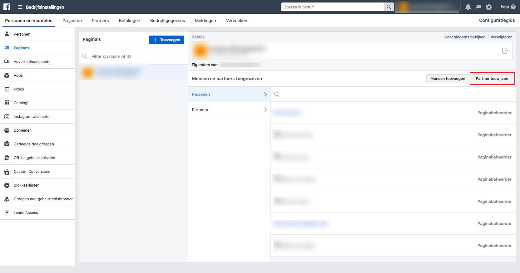 Facebook Business Manager instellen